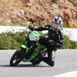 Kawasaki athlete 125 podczas jazdy