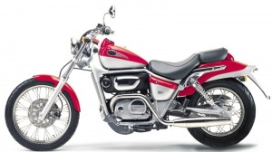 Aprilia Classic 125 Red Rose