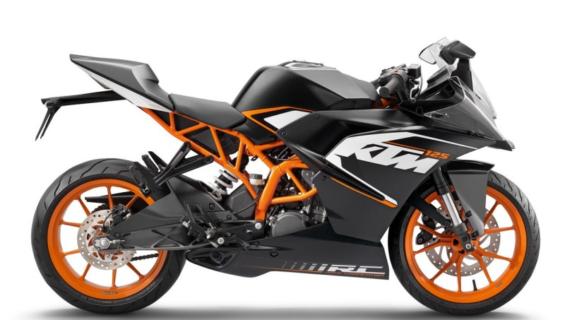 ktm rc 125 nie tylko nowoczesny design 125. Black Bedroom Furniture Sets. Home Design Ideas